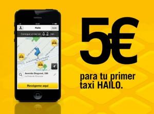 Hailo ti regala 5€ per la tua prossima corsa in taxi