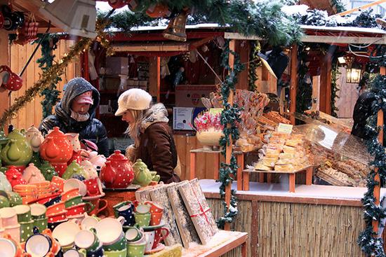 Fiera del Natale a Budapest