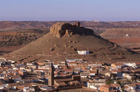 Ricordi del castello della Stella di Montiel (Ciudad Real)