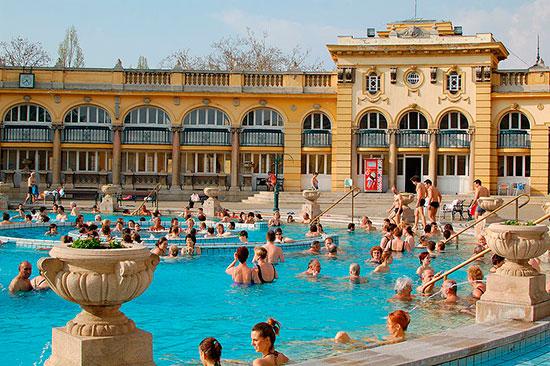 Terme di primavera a Budapest