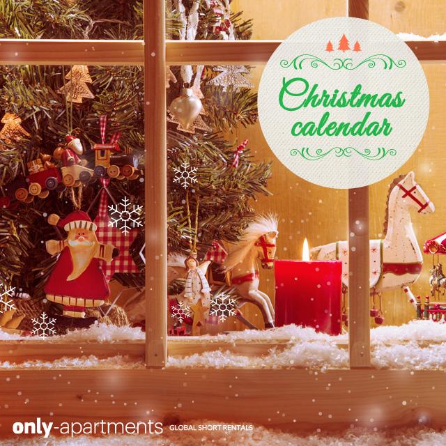 È arrivato il Christmas Calendar di Only-apartments