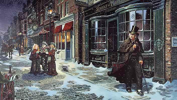 Il tour Dickens e il Canto di Natale
