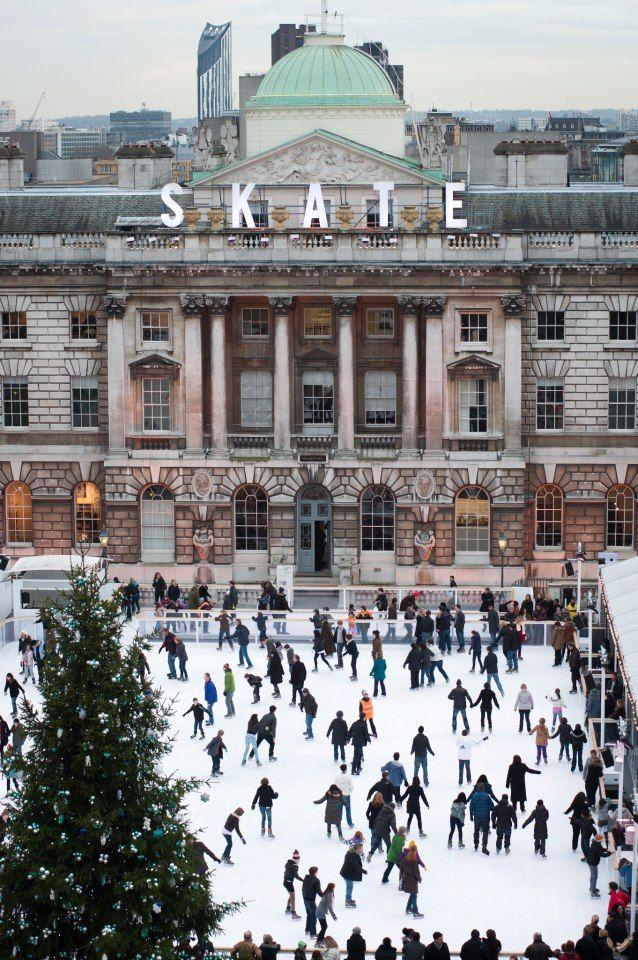 Contest sul ghiaccio: Ice Rink di Canary Wharf a Londra vs. BarGelona