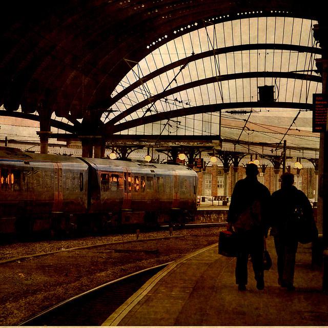 Viaggio in treni di ieri e di oggi