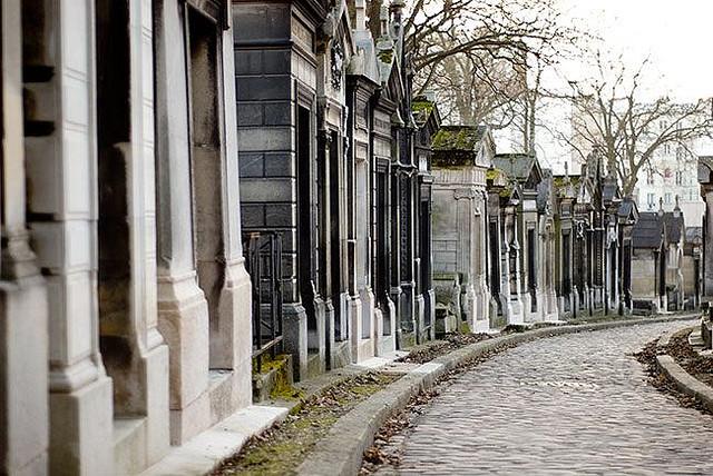 Tour lungo i cimiteri di Parigi