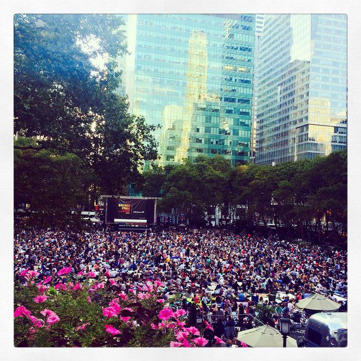 Bryant Park: cinema al parco