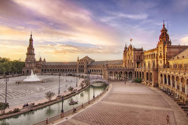 Tutti i dettagli di Plaza España di Siviglia