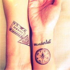 Tatuaggi di viaggi