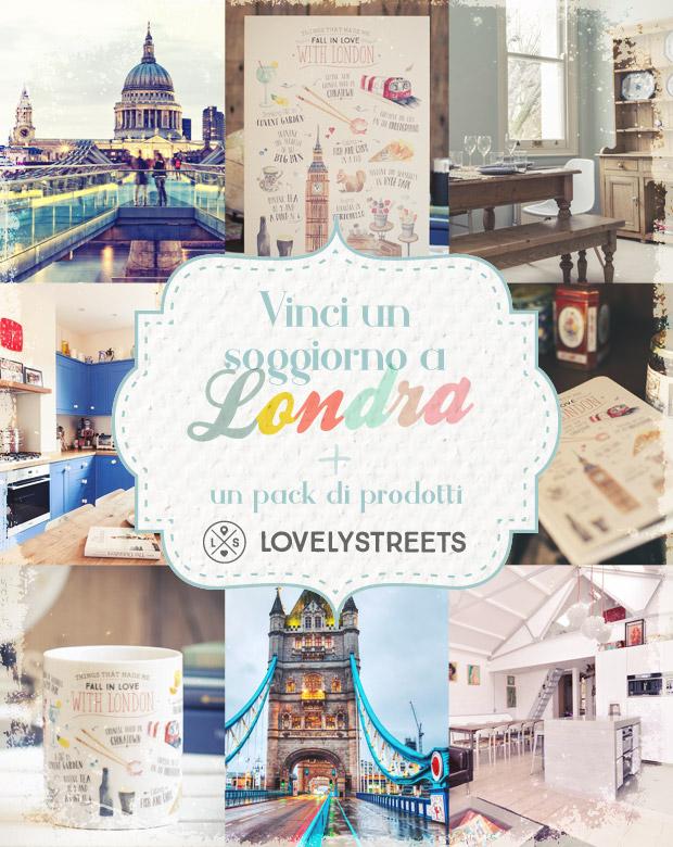 Vinci un soggiorno a Londra + un pack di prodotti LovelyStreets!
